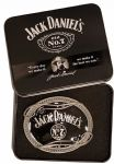 Jack Daniel's Scroll Officially Licensed Belt Buckle with Collectors Tin. Code AZ4